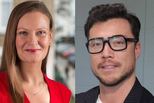 Anna Dé (L) and Matt Foster (R) have been appointed to help lead BCW's UK healthcare practice