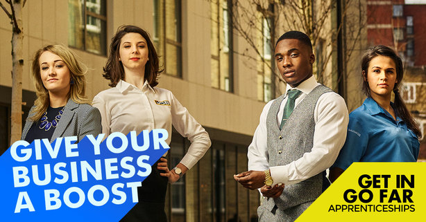 The DfE will use multiple channels to promote the latest strand of its 'Get In Go Far' campaign