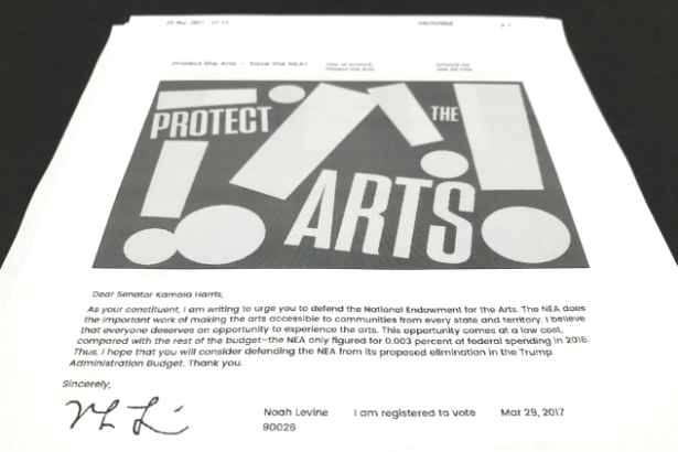 An example fax sent by Artifax (image and artwork by Use All Five)