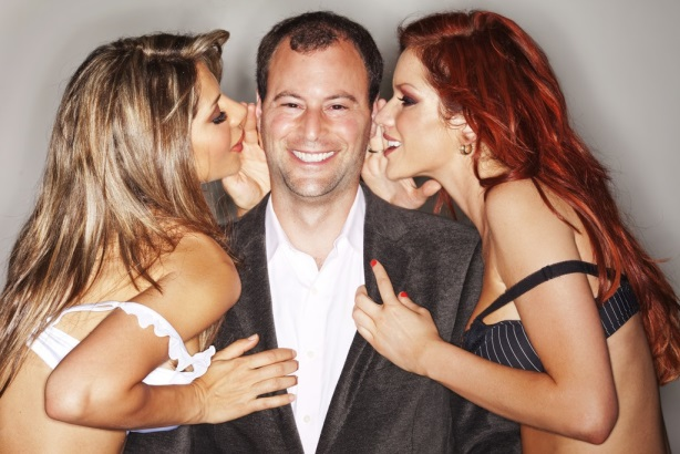 Ashley Madison CEO Noel Biderman pictured in happier times