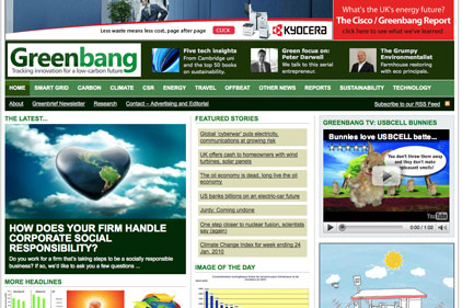 Building credibility: Greenbang to commercialise its site