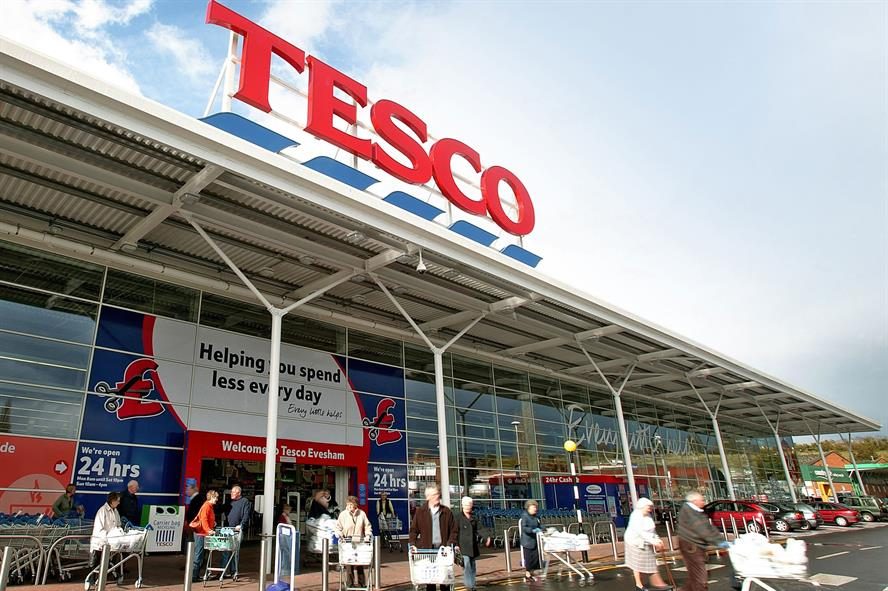 Tesco: UK comms team is led by David North