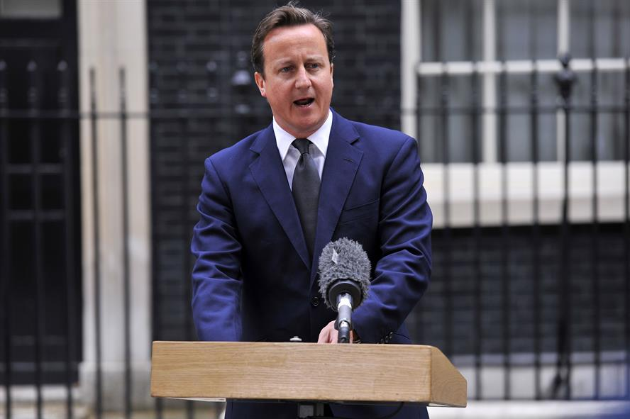 David Cameron: returns from holiday following UK riots