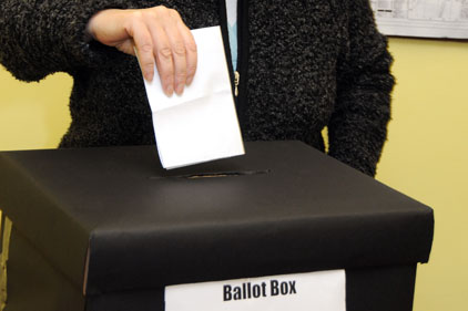 Yes and no campaign: new voting system