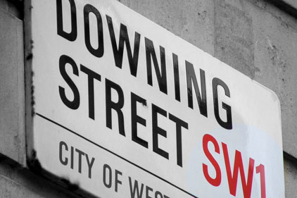 Downing Street: cuts to budgets