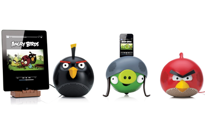 GEAR4: Angry Birds speakers