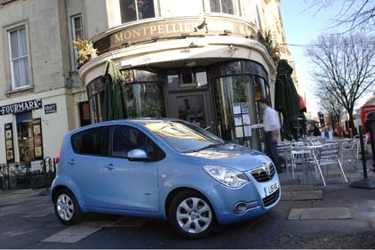 New direction: Vauxhall to promote cars such as the Agila