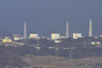 Danger: Explosions at the Fukushima plant [pic Rex Features]