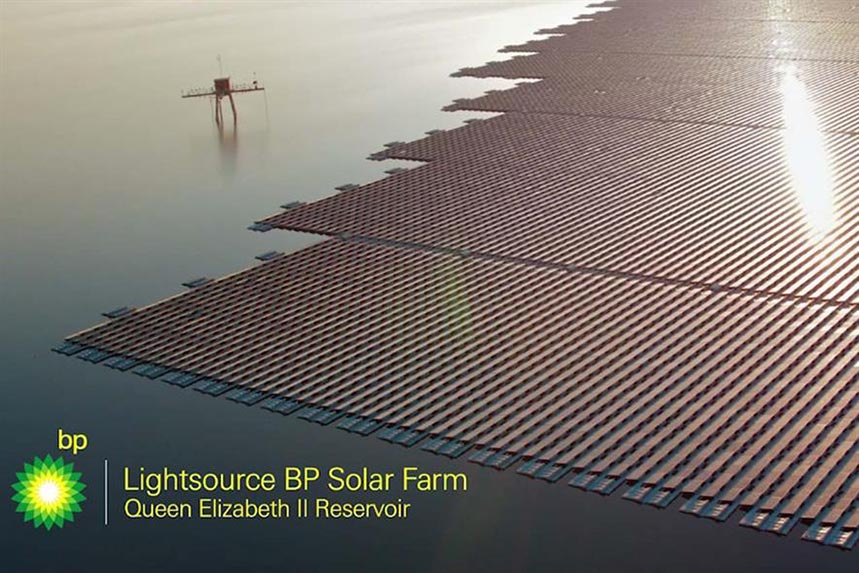 BP: features renewable sources in its advertising but is no longer welcome in The Guardian