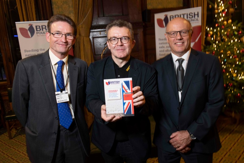 BPC chairman with former MP Tom Watson (centre)