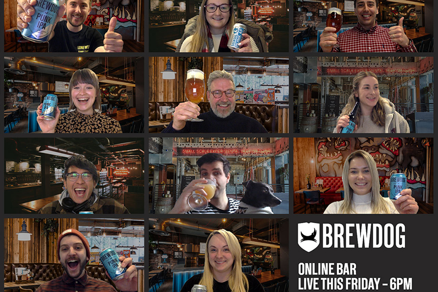 BrewDog: virtual bar will include tastings and quizzes