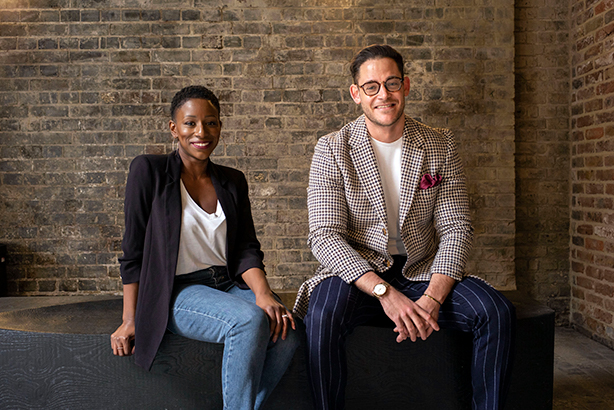 Beyond Talent Global managing partners Natasha Mensah-Benjamin and Ollie Thomas