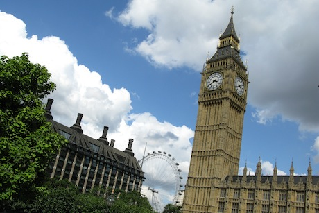 Parliament and Portcullis House (picture credit Ian Bottle)