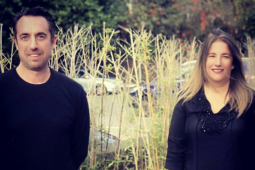 AAR's new PR lead Andrew Bloch and CEO Victoria Fox