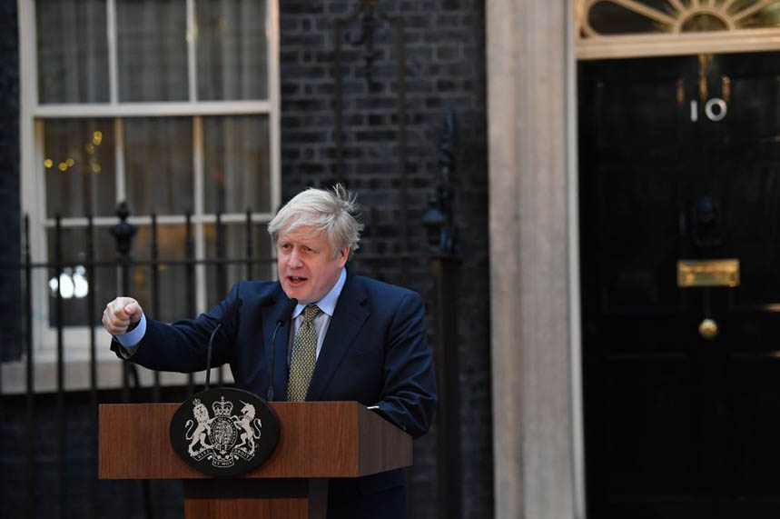 Who will Boris Johnson pick as his new comms chief and what story will they tell? (pic credit: Getty)