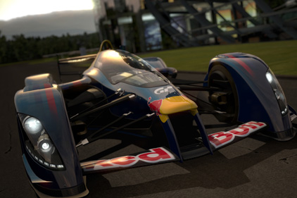 Virtual advertising: Red Bull in Gran Turismo