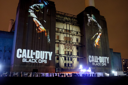 Big budget: Call of Duty: Black Ops launched at Battersea Power Station