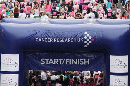 shortlising PR agencies: Cancer Research UK