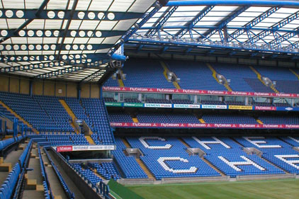 Chelsea FC's football home: Stamford Bridge