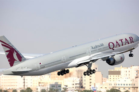 Take-off: Qatar Airways is pursuing an aggressive growth strategy