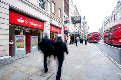 Santander: wants more involvement in corporate Britain