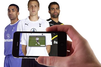 Aurasma: sponsors Tottenham Hotspur