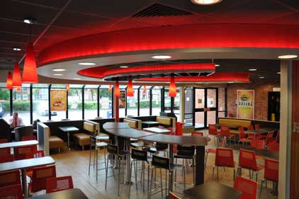 Burger King: rolling out urban 20/20 restaurants