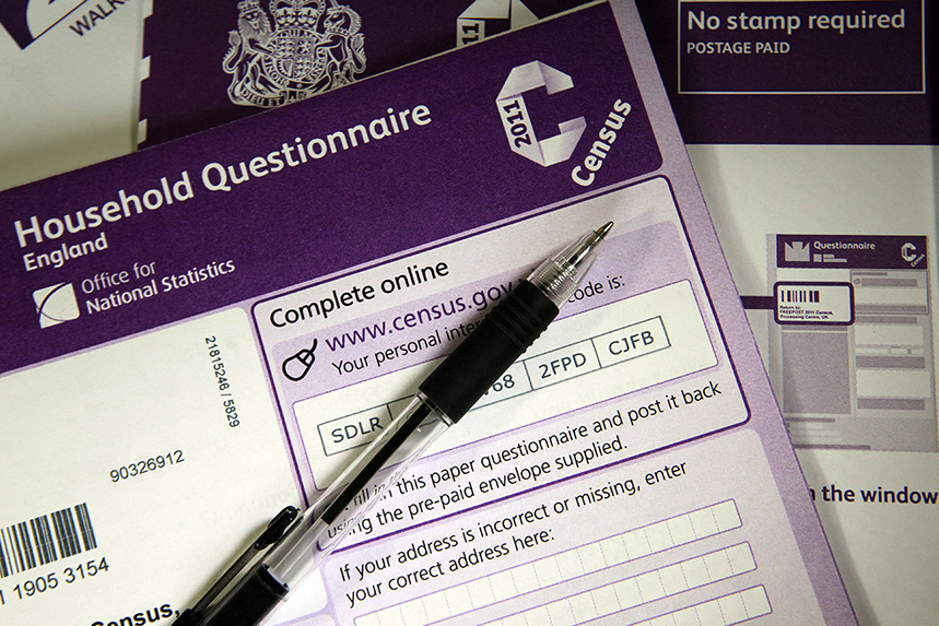Census: the government is planning a major campaign (©GettyImages)