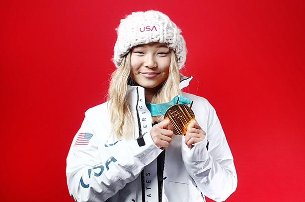 Olympian Chloe Kim is a brand owner's dream and a shining example for all young people.
