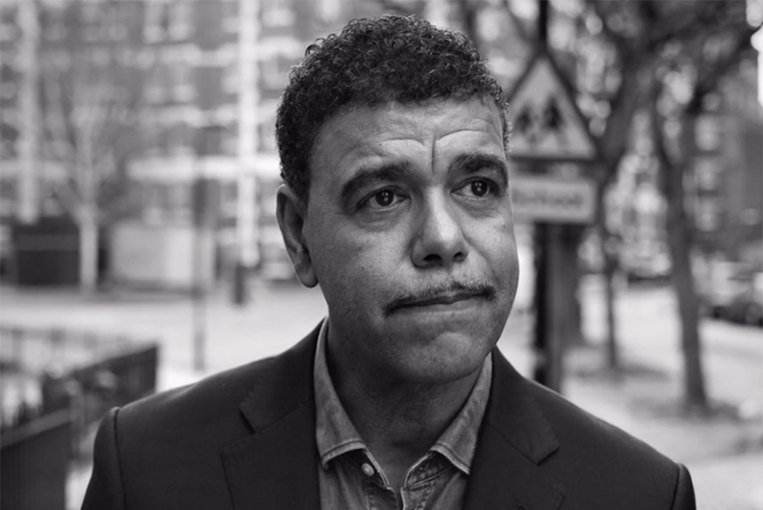Pundit and former player Chris Kamara is one of several football stars in the video