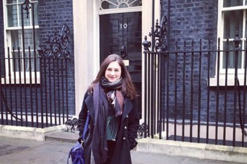 BEIS senior external affairs officer Claire French is moving to RBS (Credit: Twitter/clairee_french)