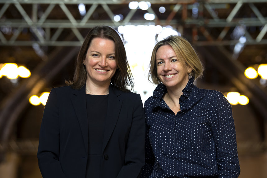 Clare Jennings (left) and Alice Holmes (right) have rebuilt the House of Commons comms team