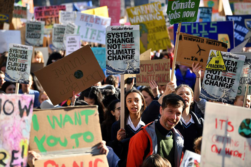 Blurred is joining other PR agencies in global climate strike action today. (Photo: Getty Images)