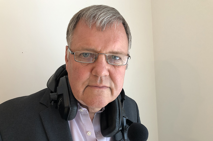Football commentator Clive Tyldesley fronted Kindred's 'Don't transfer deadline day' campaign