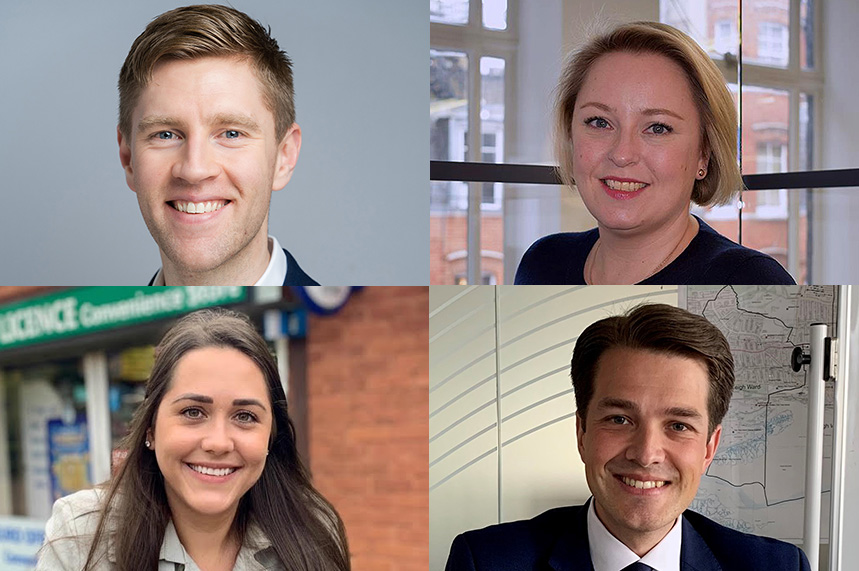 Which PR and comms people were elected to office at the weekend?