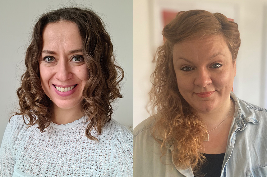 New faces (L-R): Rebecca Fergusson and Hayley O'Donnell