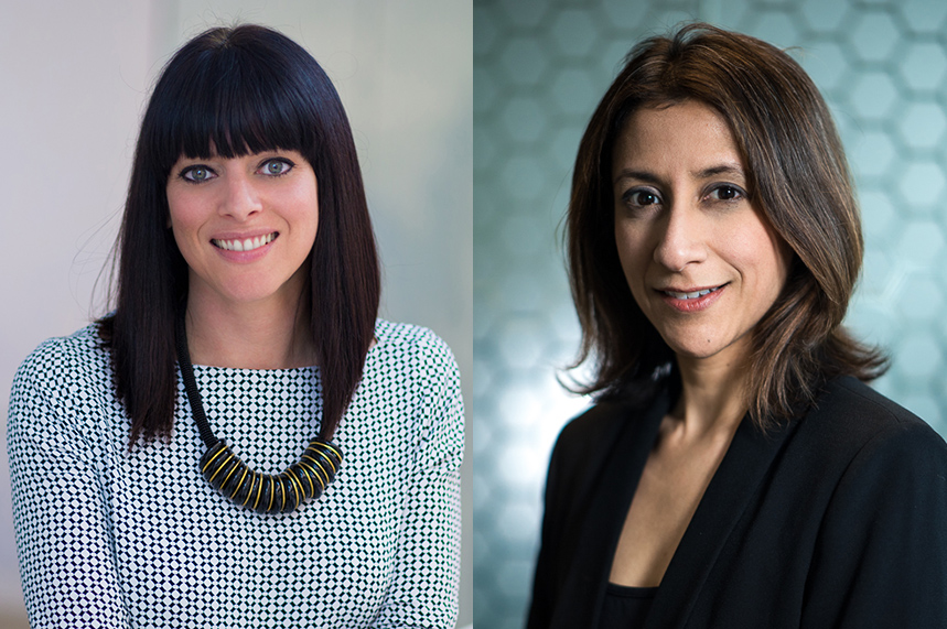 GCI Health UK managing director Kath Kerry (L) and senior director Neha Dave (R) are leading the agency's expansion in Europe