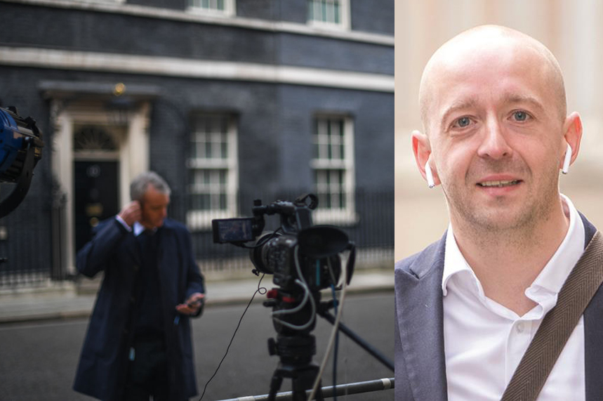 What are the implications of the breakdown of the truce between Downing Street and the media?