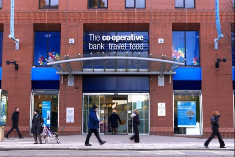 Co-operative Bank: now owned by hedge funds