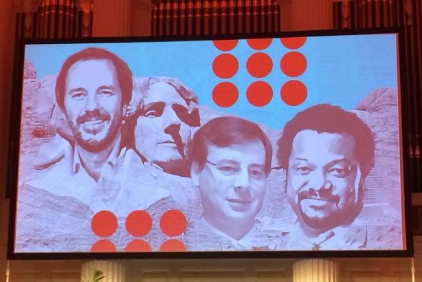 The Mount Rushmore of disruptors: Peter McGuinness, David Hantman, Bonin Bough