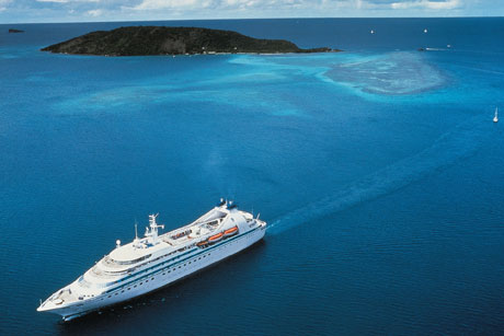 Ship shape: Cruise Lines International Association (Credit: Seabourn Caribbean)