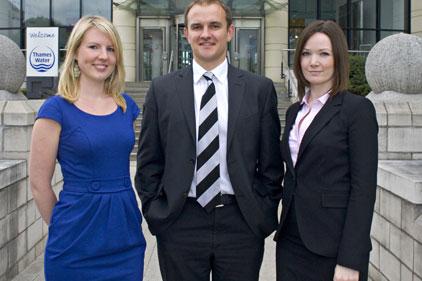 Thames Water: Becky Johnson, Simon Evans, Amy Dutton