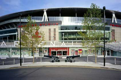 Arsenal home ground: Emirates Stadium