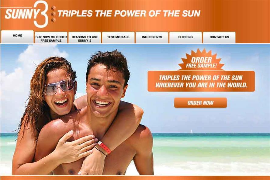 Charity Skcin's: hoax website