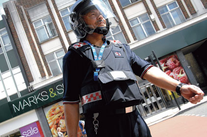 Safe hands: Security firm G4S is the world's second largest employer
