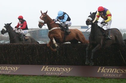 Newbury racecourse: Hennessy Gold Cup