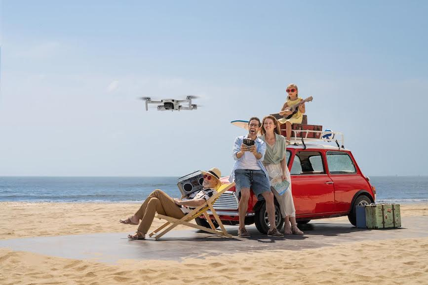 Diffusion is helping to promote the DJI Mini 2.