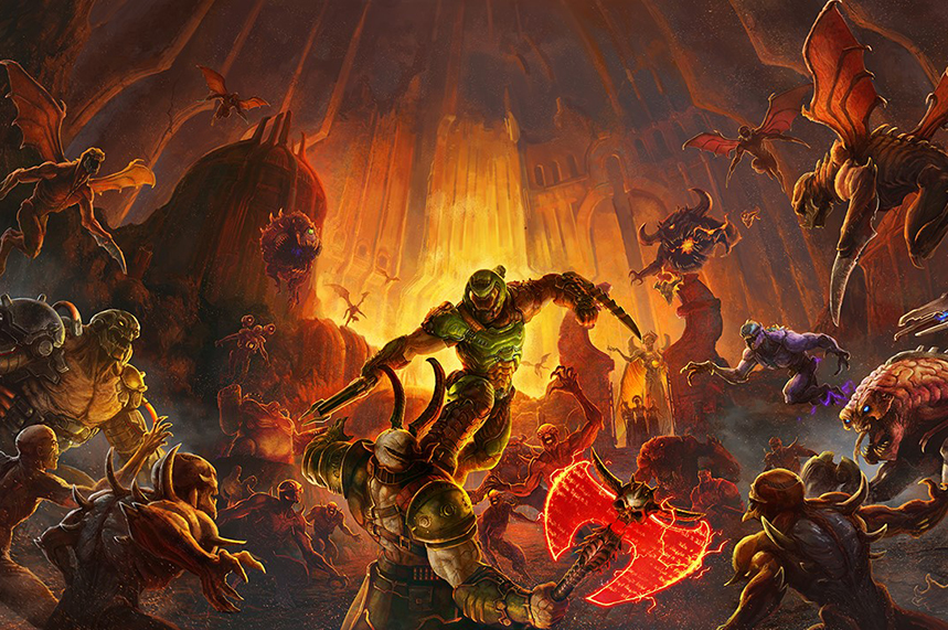 Hope&Glory will help Bethesda launch a new Doom game