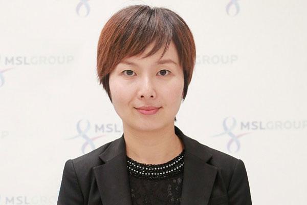 Daisy Zhu, Managing Director, MSLGROUP China
