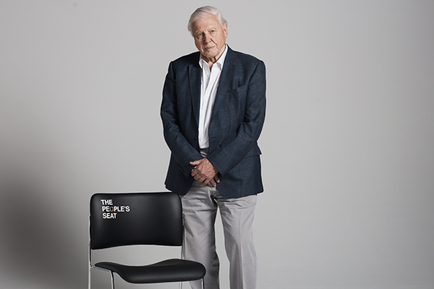Sir David Attenborough is urging people to have their say on climate change.